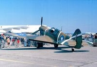ZK-RMH @ LFPB - Curtiss P-40E Kittyhawk at the Aerosalon 1999, Par