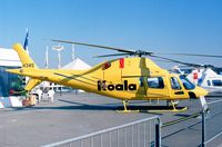 I-KOAL @ LFPB - Agusta A.119 Koala prototype at the Aerosalon 1999, Paris
