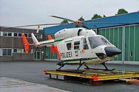 D-HNWO @ EDLW - MBB-Kawasaki BK.117C-1 [7552] (Police) Dortmund~D 26/05/2006.