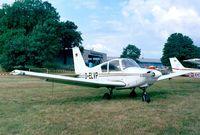 D-ELVP @ EDKB - Gardan GY-80 Horizon at the Bonn-Hangelar 90-year jubilee-airshow