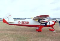 D-EDUH @ EDKB - Pützer Elster B at the Bonn-Hangelar 90-year jubilee-airshow - by Ingo Warnecke