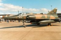 BR14 @ MHZ - Mirage 5BR of 42 Squadron Belgian Air Force on display at the 1989 Mildenhall Air Fete. - by Peter Nicholson
