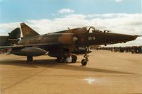 BR14 @ MHZ - Another view of the 42 Squadron Mirage 5BR of the Belgian Air Force at the 1989 Mildenhall Air Fete. - by Peter Nicholson