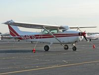 N5427D @ TTN - This 1979 Cessna Skyhawk is one of several of the considerable fleet of Mercer County College.  The aircraft is at Trenton Mercer Airport (TTN). - by Daniel L. Berek