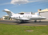 VH-ZUH @ YMEN - Hawker 800XP - by red750