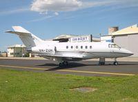 VH-ZUH @ YMEN - Hawker 800XP