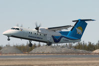 C-GXCN @ CYZF - Canadian North DHC 8-100 - by Andy Graf-VAP