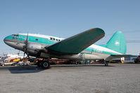 C-FAVO @ CYZF - Buffalo Airways C-46 - by Andy Graf-VAP