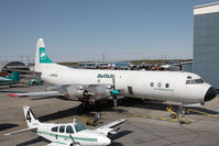 C-FBAQ @ CYZF - Buffalo Airways L-188 - by Andy Graf-VAP