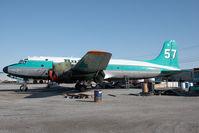 C-FIQM @ CYZF - Buffalo Airways DC 4 - by Andy Graf-VAP