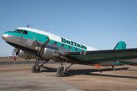 C-FLFR @ CYZF - Buffalo Airways DC3 - by Andy Graf-VAP