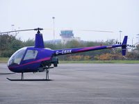 G-CBXK @ EGGP - Helicentre Liverpool Ltd - by Chris Hall