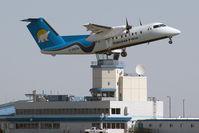 C-GECN @ CYZF - Canadian North DHC 8-100 - by Andy Graf-VAP
