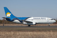 C-GFPW @ CYZF - Canadian North 737-200 - by Andy Graf-VAP