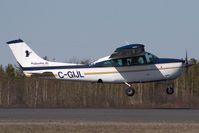 C-GIJL @ CYZF - Northwest Air Cessna 210 - by Andy Graf-VAP
