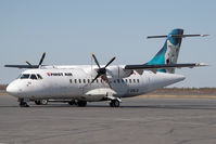 C-GKLB @ CYZF - First Air ATR42 - by Andy Graf-VAP