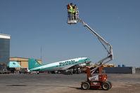C-GPNR @ CYZF - Buffalo Airways DC 3 - by Andy Graf-VAP