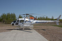C-GEMJ @ CYOJ - Gemini Helicopters AS350 - by Andy Graf-VAP