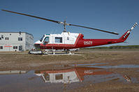 C-GJLV @ CYOJ - Delta Helicopters Bell 204 - by Andy Graf-VAP