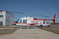 C-GWML @ CYOJ - Delta Helicopters Bell 206 - by Andy Graf-VAP