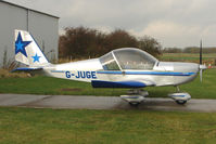 G-JUGE @ EGBG - Resident Cosmick EV-97 at Leicester on the All Hallows Day Fly-in