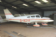 G-AZYF @ EGBG - Resident Piper PA-28-180  at Leicester on the All Hallows Day Fly-in