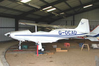 G-OCAD @ EGBG - Resident Falco F8L at Leicester on the All Hallows Day Fly-in