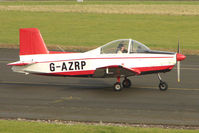 G-AZRP @ EGBG - Glos Airtourer at Leicester on the All Hallows Day Fly-in
