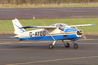G-ATDO @ EGBG - Bolkow Junior at Leicester on the All Hallows Day Fly-in