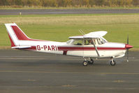 G-PARI @ EGBG - Cessna 172RG  at Leicester on the All Hallows Day Fly-in