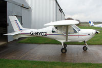 G-BYCZ @ EGBG - Resident Jabiru SK  at Leicester on the All Hallows Day Fly-in