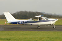 G-FNEY @ EGBG - Cessna 177RG  at Leicester on the All Hallows Day Fly-in