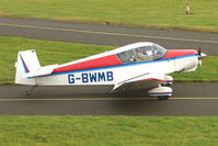 G-BWMB @ EGBG - Jodel D119 at Leicester on the All Hallows Day Fly-in