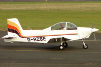 G-AZBE @ EGBG - Glos Airtourer at Leicester on the All Hallows Day Fly-in