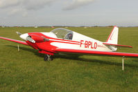 F-BPLO @ EGBG - French registered Fournier RF 4D at Leicester on the All Hallows Day Fly-in