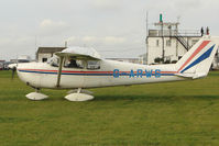 G-ARWS @ EGBG - Cessna 175C from Derby at Leicester on the All Hallows Day Fly-in