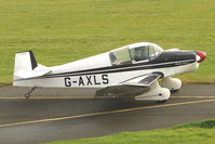 G-AXLS @ EGBG - Jodel D105A at Leicester on the All Hallows Day Fly-in