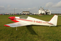 G-AWBJ @ EGBG - Fournier RF 4D at Leicester on the All Hallows Day Fly-in