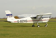 G-BZHG @ EGBG - TECNAM P92-EM ECHO at Leicester on the All Hallows Day Fly-in