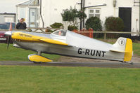 G-RUNT @ EGBG - Cassutt Racer at Leicester on the All Hallows Day Fly-in