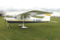 G-BZWT @ EGBG - TECNAM P92-EA ECHO at Leicester on the All Hallows Day Fly-in