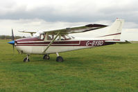 G-BYBD @ EGBG - Cessna 172H  at Leicester on the All Hallows Day Fly-in