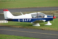 G-BAFP @ EGBG - Robin DR400/160 at Leicester on the All Hallows Day Fly-in