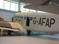 G-AFAP @ EGWC - exhibited at the RAF Museum at Cosford