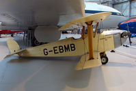 G-EBMB @ EGWC - exhibited at the RAF Museum at Cosford