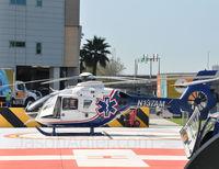 N137AM @ 61FL - N137AM arriving at Tampa General Hospital - by JasonAdler.com