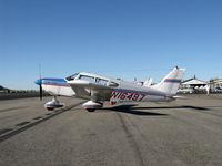 N16497 @ SZP - 1973 Piper PA-28-235 CHEROKEE CHARGER, Lycoming O-540-B4B5 235 Hp - by Doug Robertson