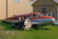 C-FSFH @ CKC5 - Seen here in a poor condition at Selkirk Sea Plane base sill wearing Selkirk Air tiles. - by Ray Barber