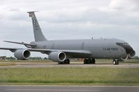 58-0001 @ EGUN - Boeing KC-135R Stratotanker (717-148) At RAF Mildenhall in 2006.  From 351 ARS 100 ARW. - by Malcolm Clarke