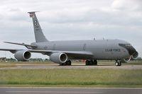 58-0001 @ EGUN - Boeing KC-135R Stratotanker (717-148) At RAF Mildenhall in 2006.  From 351 ARS 100 ARW. - by Malcolm Clarke